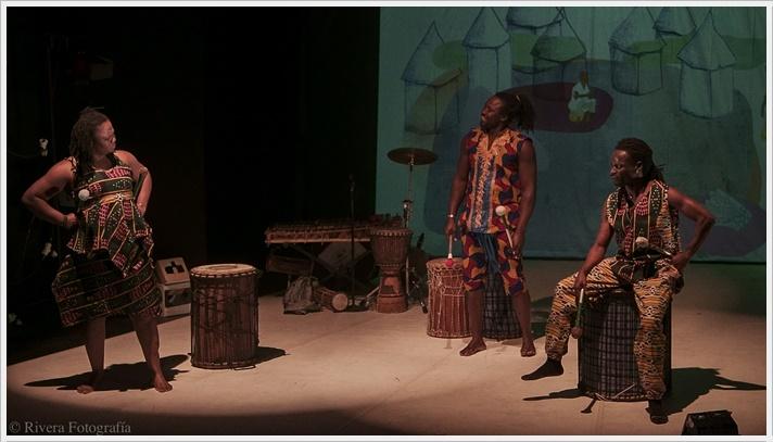 MALI Y SAYO de la Compañía Samadeni en el Teatro Español
