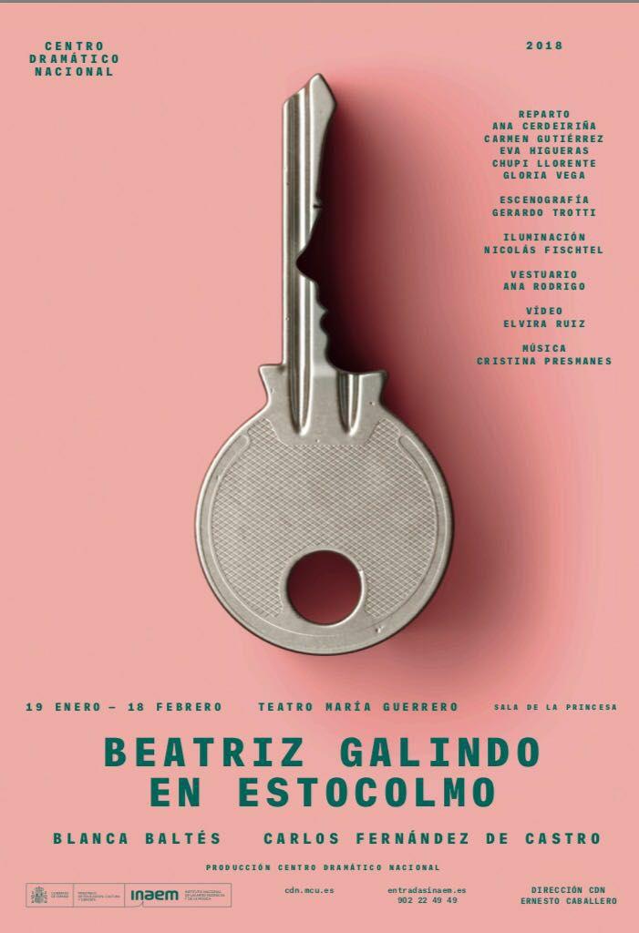 BEATRIZ GALINDO EN ESTOCOLMO, Teatro María Guerrero