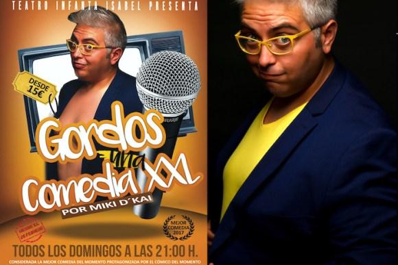 GORDOS, UNA COMEDIA XXL, en el Teatro Infanta Isabel