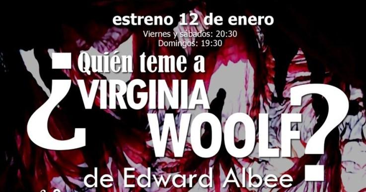 ¿QUIÉN TEME A VIRGINIA WOLF? en el Teatro Arte&Desmayo
