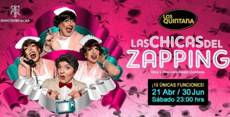 LAS CHICAS DEL ZAPPING en el Nuevo Teatro Alcalá