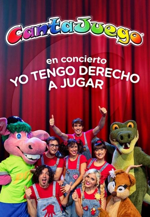 CANTAJUEGO EN CONCIERTO presenta su nuevo espectáculo YO TENGO DERECHO A JUGAR – Tour 2018.