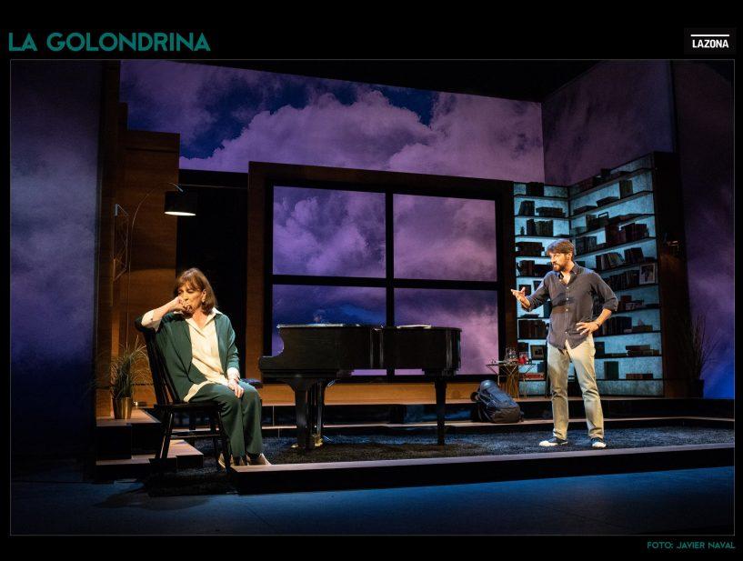 El regreso de CARMEN MAURA a los escenarios con LA GOLONDRINA, Teatro Infanta Isabel