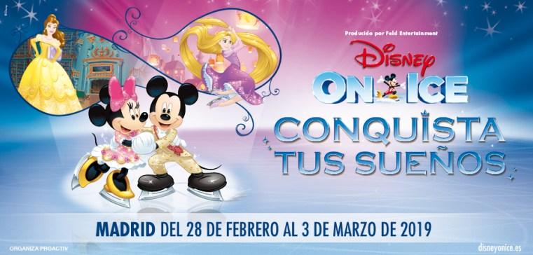 Disney On Ice Conquista tus sueños