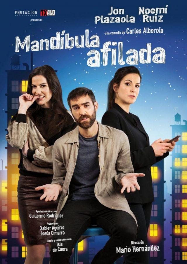 MANDÍBULA AFILADA en el Teatro Bellas Artes