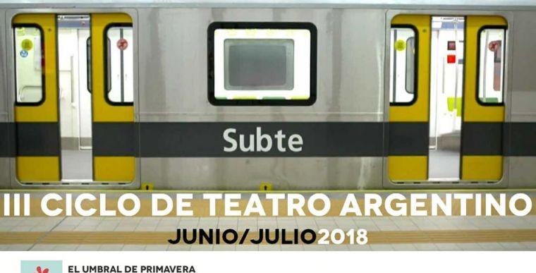 III CICLO DE TEATRO ARGENTINO