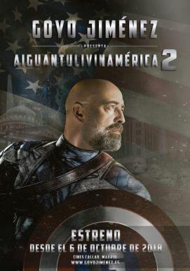 GOYO JIMÉNEZ presenta 'AIGUANTULIVINAMÉRICA 2' en los Cines Callao