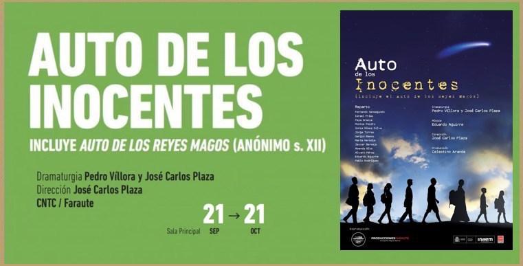 FERNANDO SANSEGUNDO estrena «Auto de los inocentes»