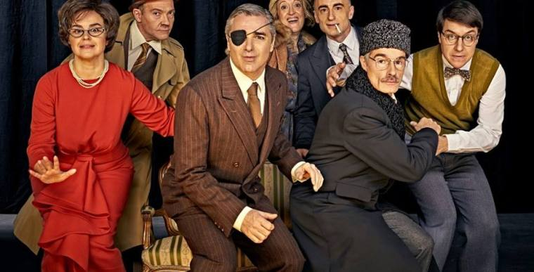 NEKRASSOV en el Teatro de la Abadía