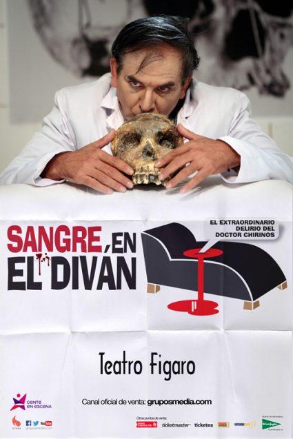 SANGRE EN EL DIVÁN en el Teatro Fígaro