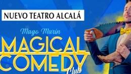 MAGO MARÍN, MAGICAL COMEDY CLUB en el Teatro Nuevo Alcalá