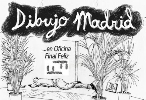 Dibujo Madrid En Oficina Final Feliz Madrid Free
