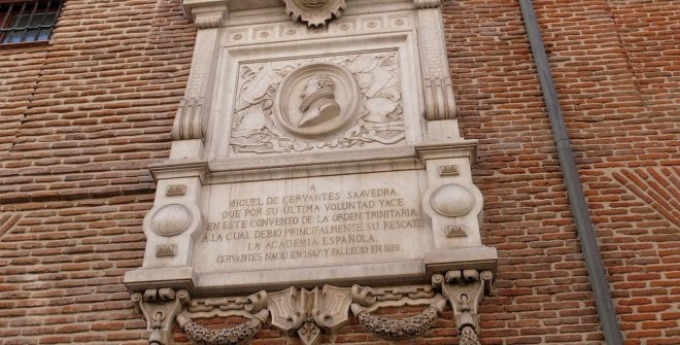 visita+tumba+cervantes+monasterio+trinitarias+madrid