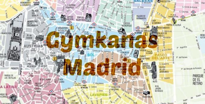 Resultado de imagen de gymkana por madrid