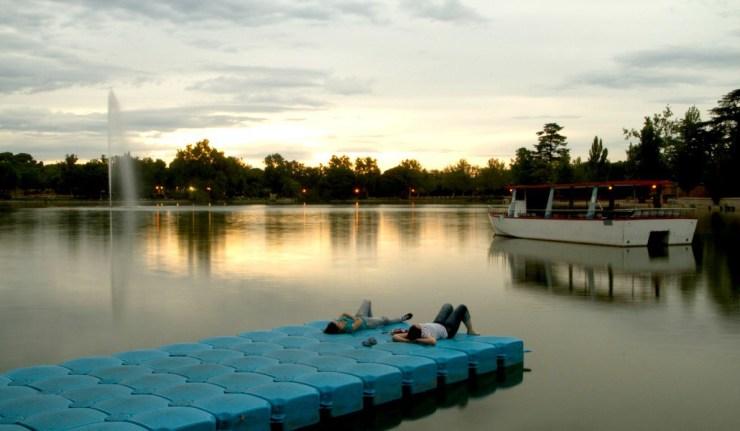 Lo que ha aparecido al vaciar el Lago de la Casa de Campo - Madrid ...