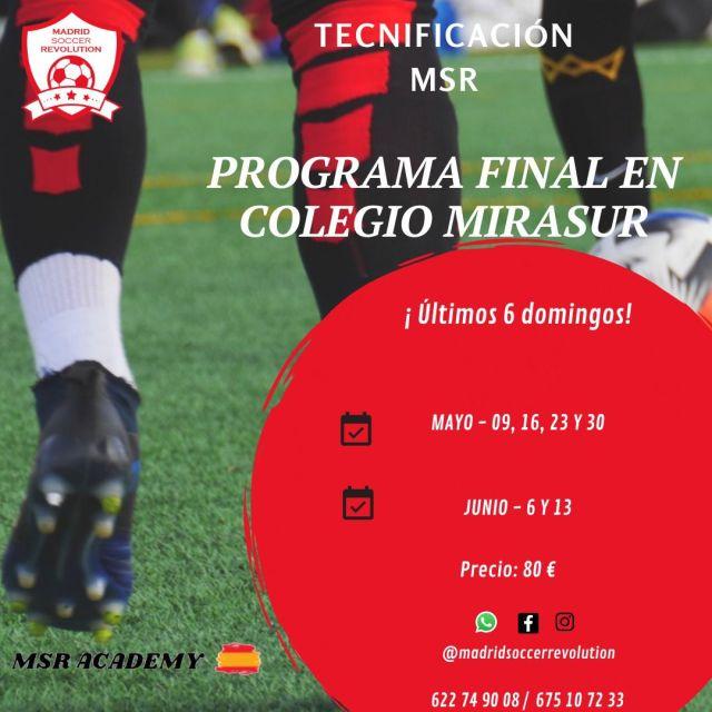 Tecnificación Programa Final