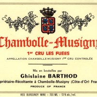 Barthod Chambolle – Fuees