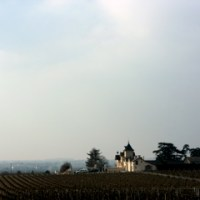 Chateau Soucherie from afar