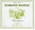 MASSIAC-SAUVIGNON-2006