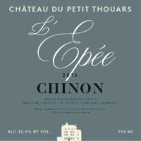 Petit Thouars Chinon L Epee