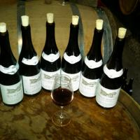 Tasting Reds at Prudhon Oct 2011