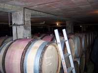 The cellar of de Launey