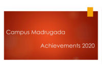 Campus Madrugada Achievements 2020