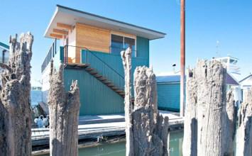 Emily Réfi, Architect: 2901 NE Marine Drive, Slip C-23, Portland, OR