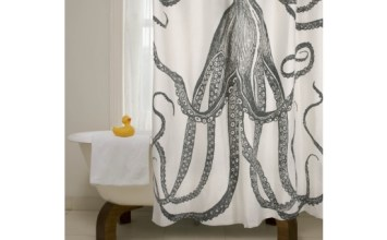 Giveaway | Thomas Paul Octopus Shower Curtain from Design Public