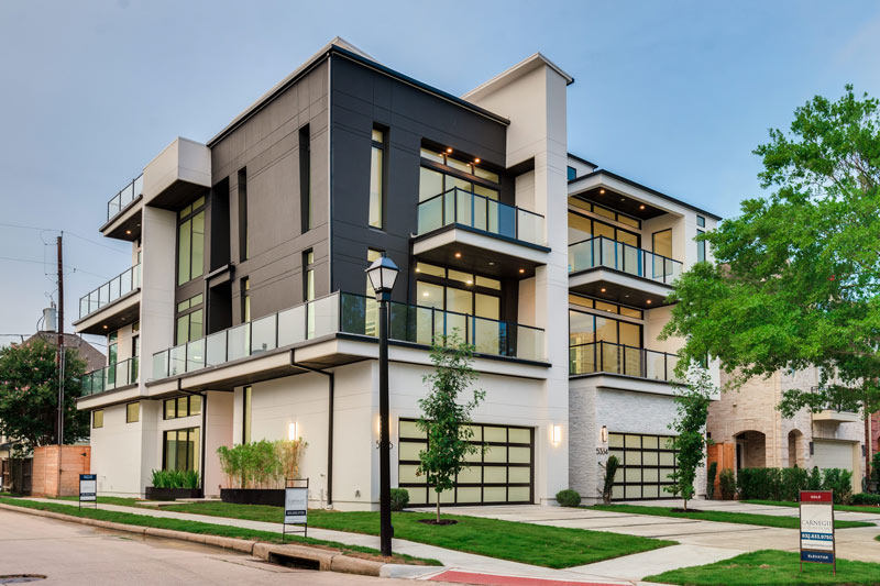Duet U2013 A Modern Houston Home In Two Parts