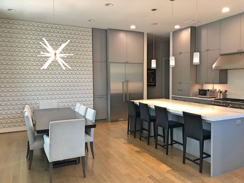 After Their Recently Remodeled Ranch Style Home Flooded In 2015, The  Homeowners Of This Modern Masterpiece Decided To Design + Build With On  Point Custom ...