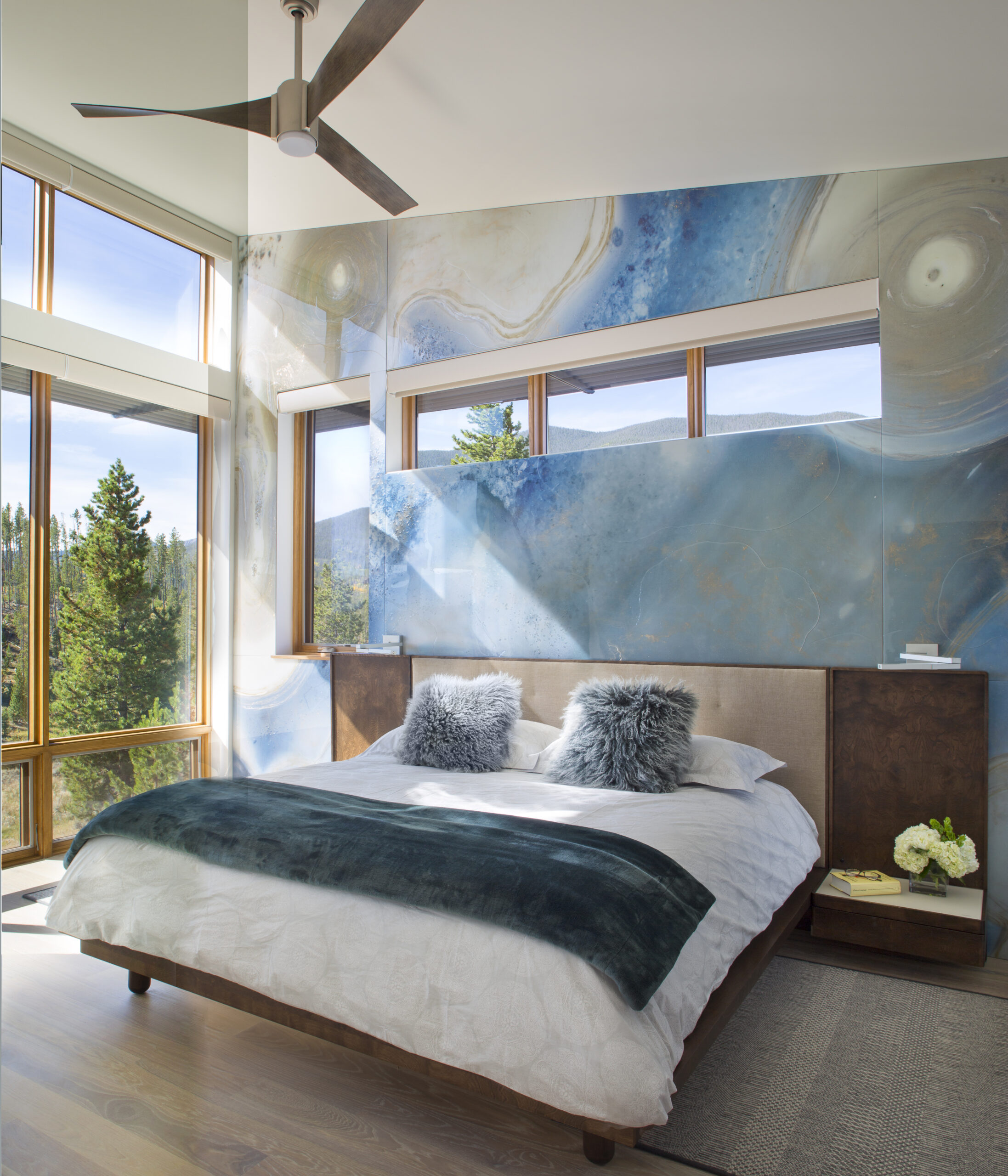 Ewers Architecture modern bedroom with a view