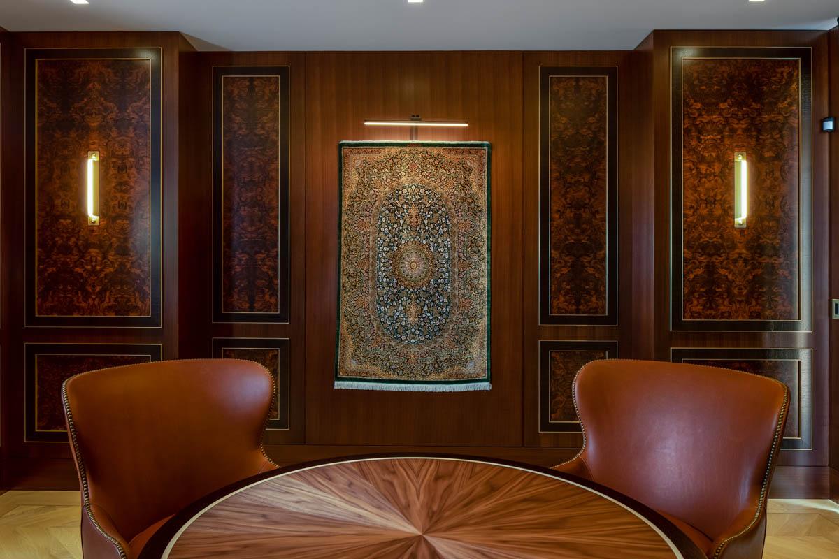 Madeleine Design Group Ocean Bluff Study tapestry