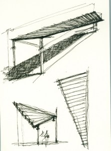 FINNE Architects Venice House sketches