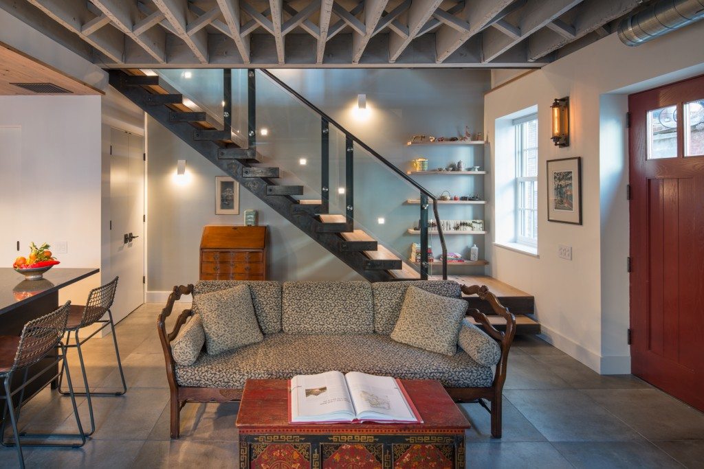 Gardner Architects New living space and stairs