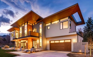 Rodwin Architecture and Skycastle Construction's amazing near-Net Zero Energy, LEED Platinum, modern custom home