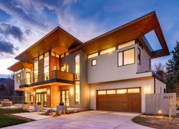 Rodwin Architecture and Skycastle Construction's amazing near-Net Zero Energy, LEED Platinum, modern custom home