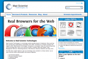 Mad Scientist Technologies - Home Page