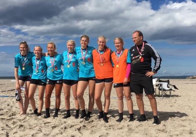 2017 Beach Hornbæk guld
