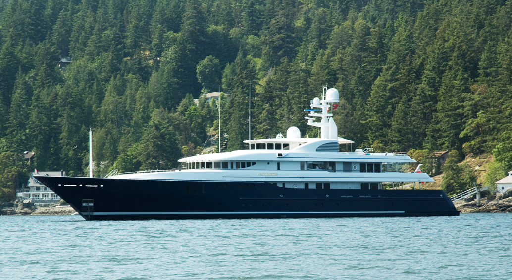 One Of The Worlds Largest Motor Yachts Madsu