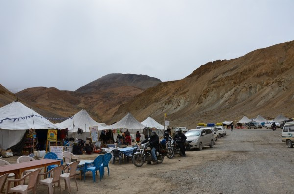 Dhaba-Camp at Pang