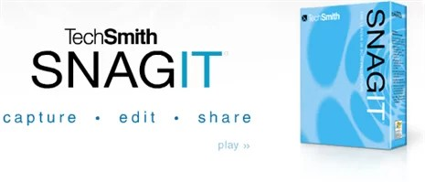 SnagIt — A fast and easy to use Screen Capture tool and Image Editor