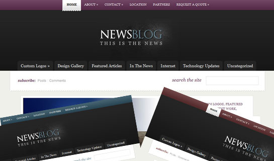 eNews – Crispy and Subtle Magazine-style WordPress Theme