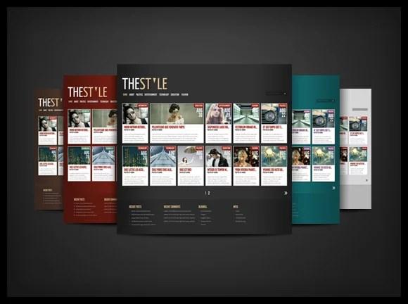 TheStyle – A Magazine-style WordPress Theme