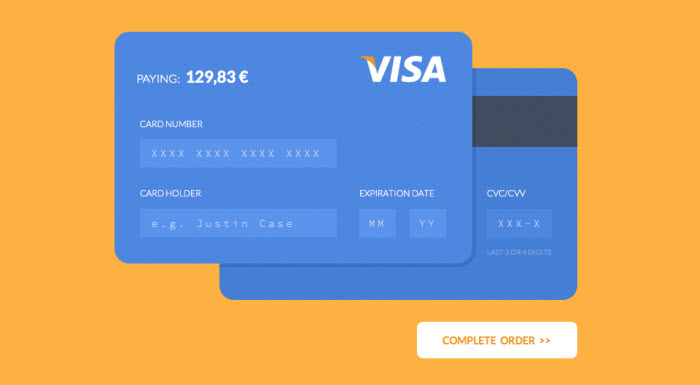 Ecommerce website payment gateway design