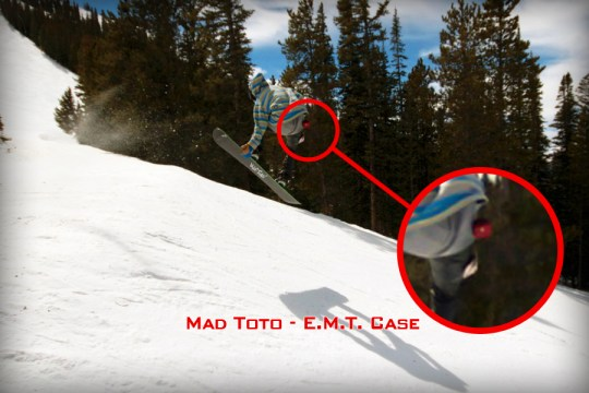 Jordan - Crested Butte, CO with Mad Toto E.M.T. Case