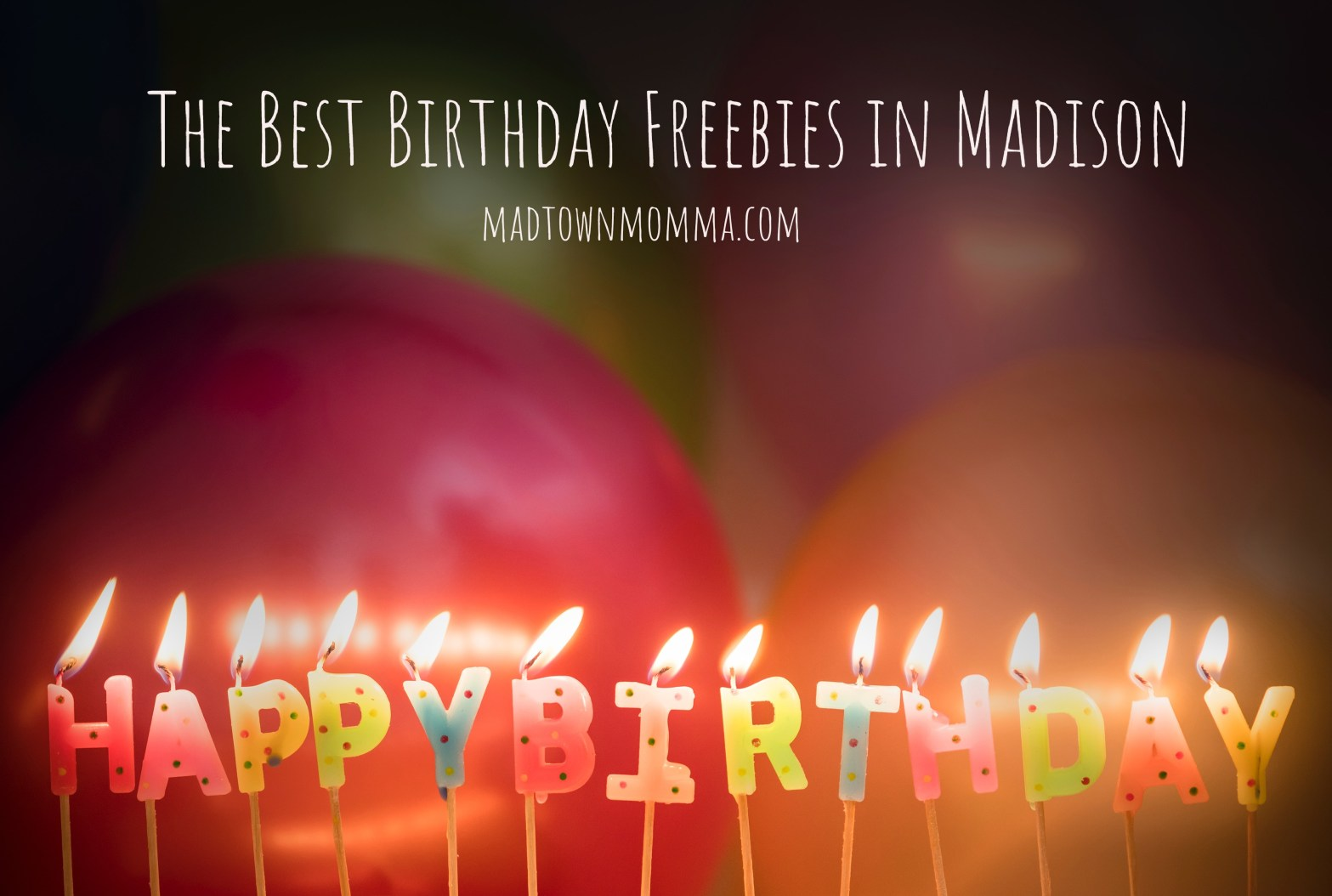 Title Image - Birthday Candles