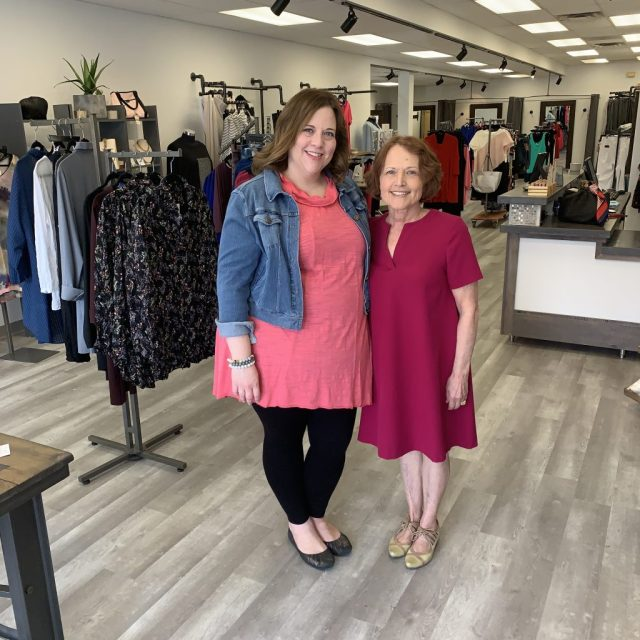 Co-owners of Z Boutique, a plus-size shop in Madison, WI