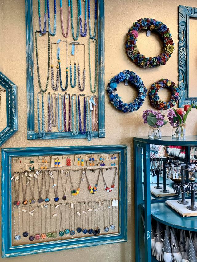 Booth 121 Jewelry Display