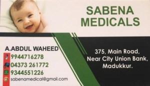 SABEENA MEDICALS